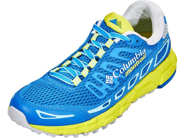 Columbia Bajada III - Chaussures running Femme - vert/bleu